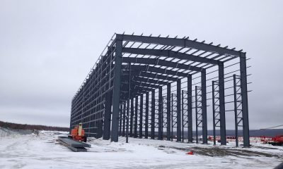Pipe Storage Building for Hampton Building Systems Inc. – By Steelway Building Systems