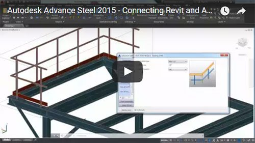 Connecting Revit and Advance Steel to eliminate redraw