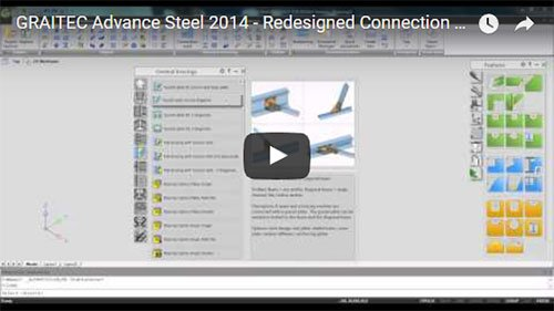 NEW - Advance Steel 2014 - Redesigned