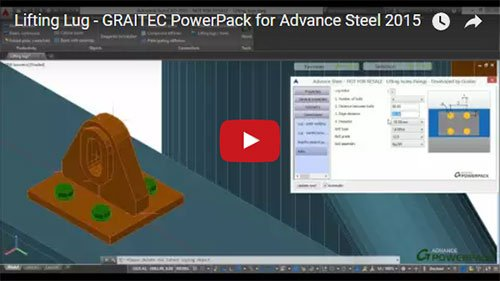 Graitec PowerPack for Advance Steel - Lifting Lug