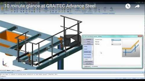 10 minute glance at Advance Steel