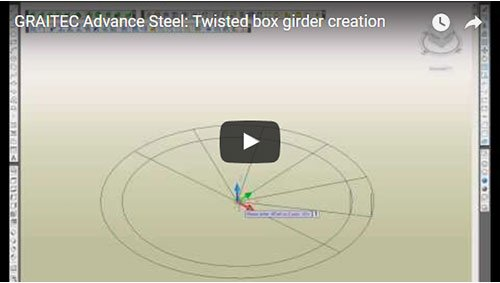 Twisted box girder creation