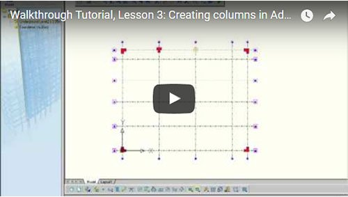 Walkthrough Tutorial, Lesson 3: Creating columns
