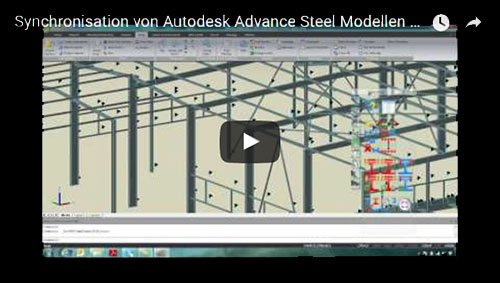 Synchronization of an Advance Steel model with Advance Design
