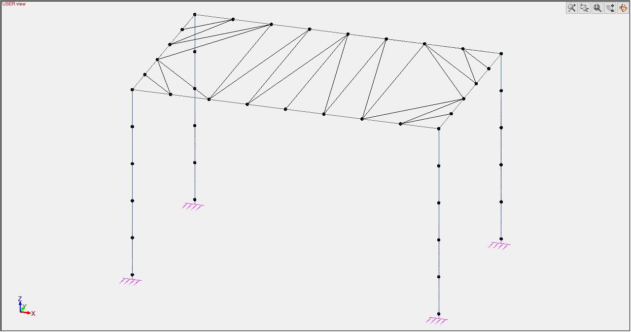 Membrane mesh view
