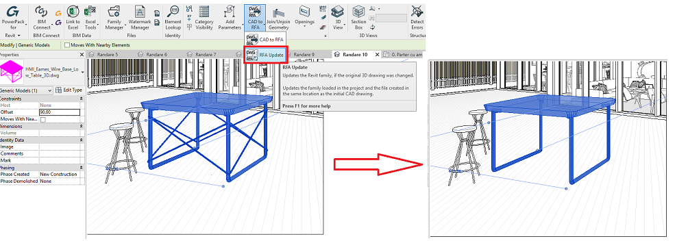 How to convert 3D CAD solids to Revit Families? · Graitec