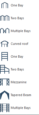 Default Structure Designer templates
