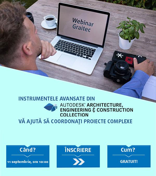 GRAITEC | Webinar Revit conceput special pentru Arhitecţi